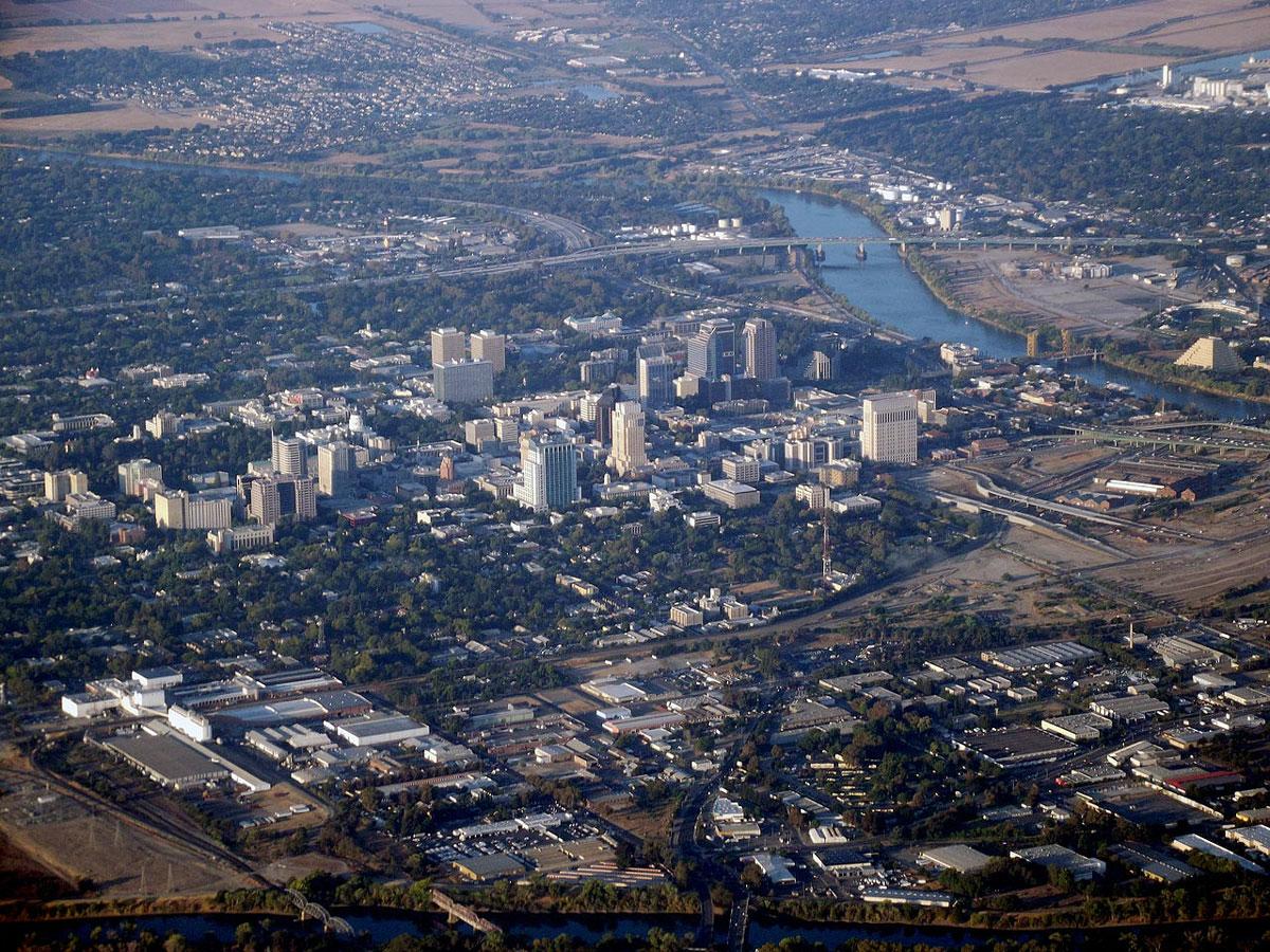 Sacramento Geography